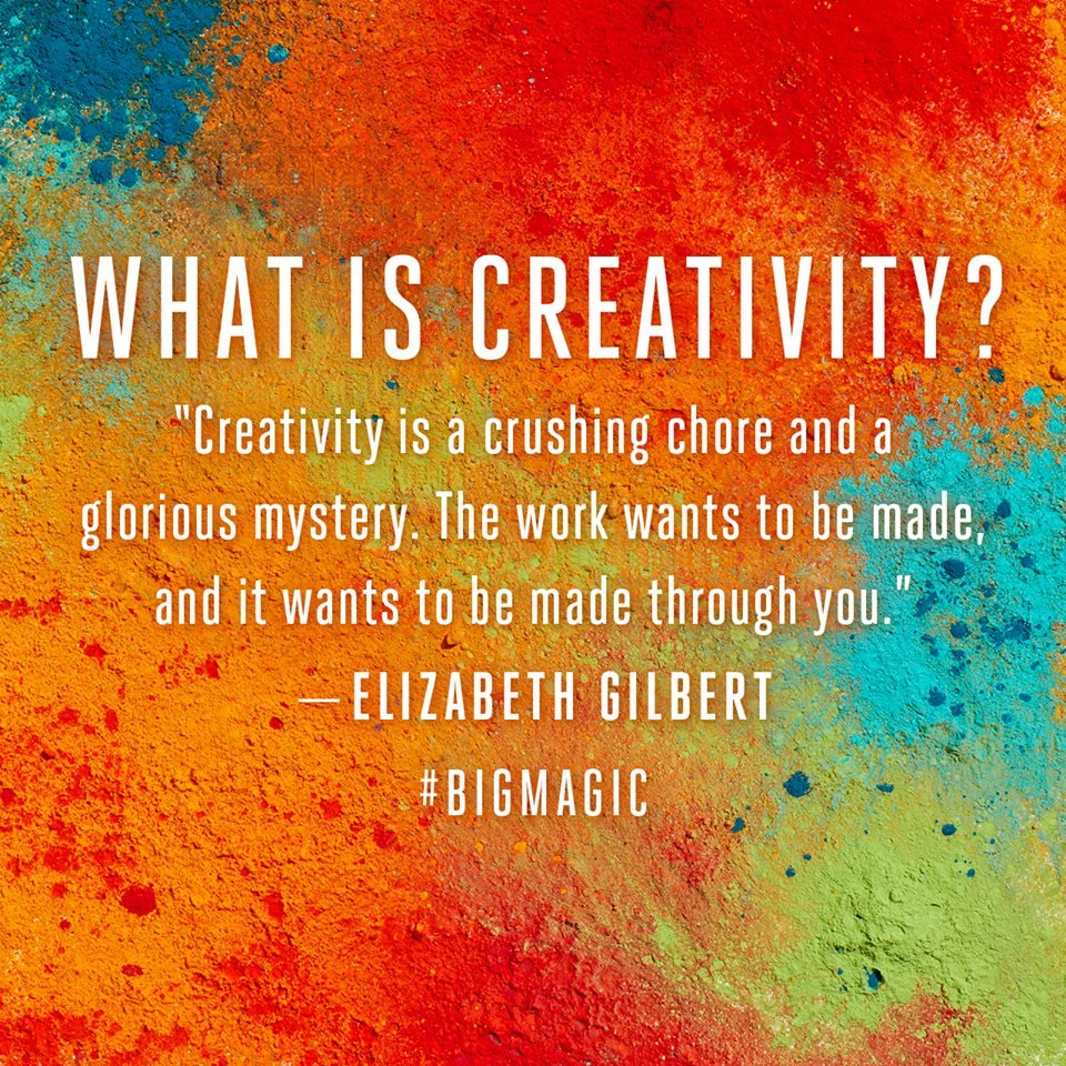 Quotes From Elizabeth Gilbert Big Magic