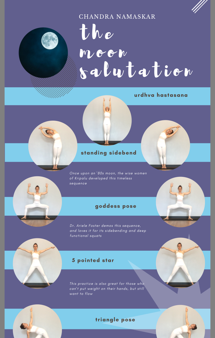 Sequence Giveaway An Anatomic Case For The Moon Salutation