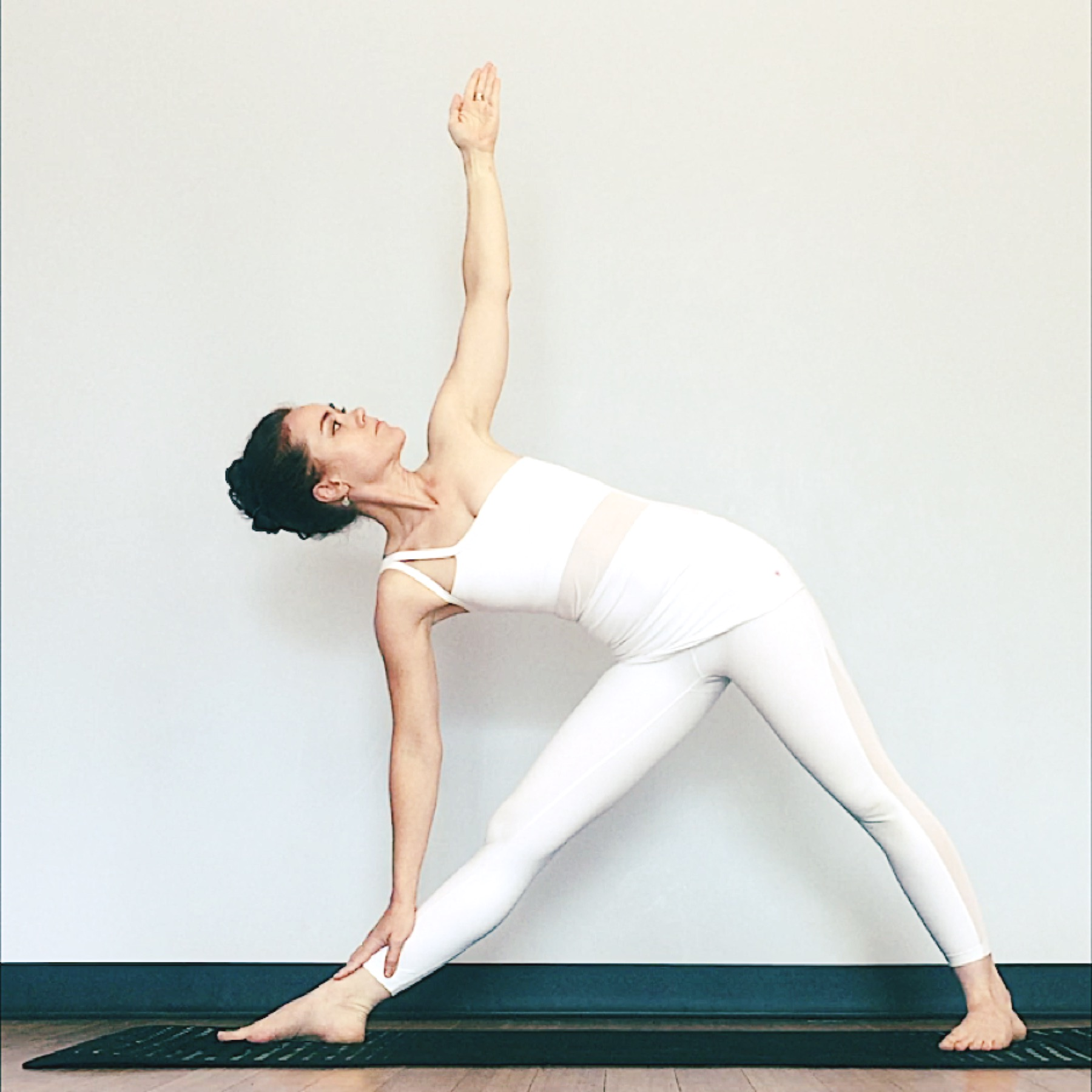 Triangle Pose Physical Therapy